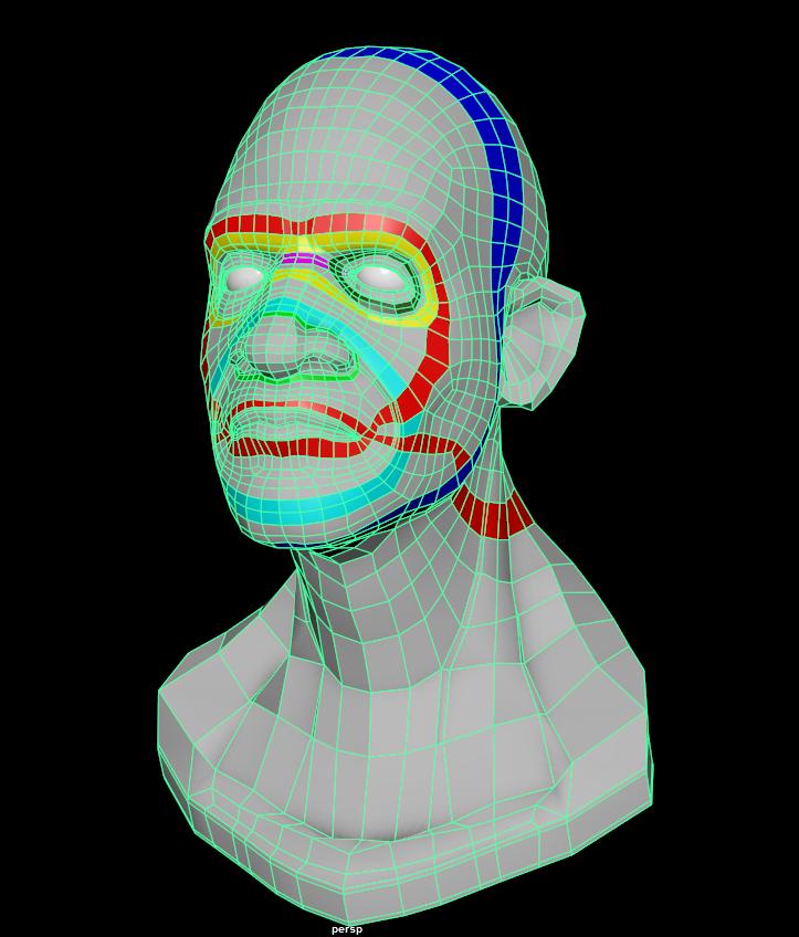Facial Rigging Course – Week2